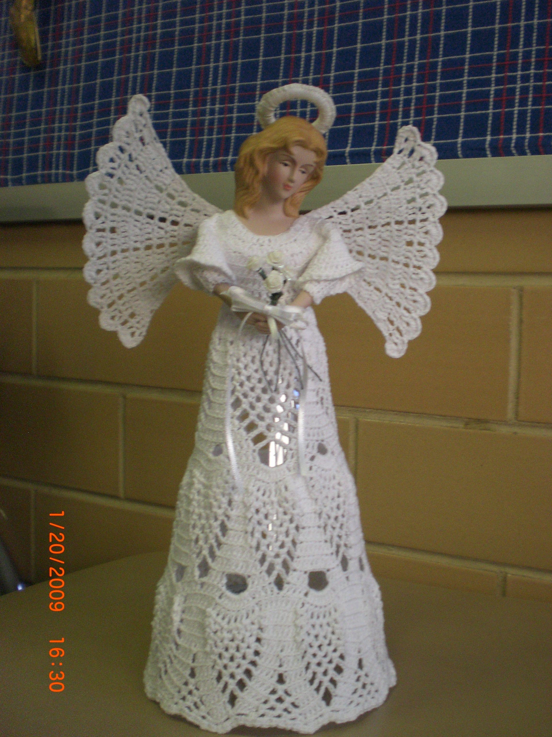 Crochet Angel Angels Pinterest