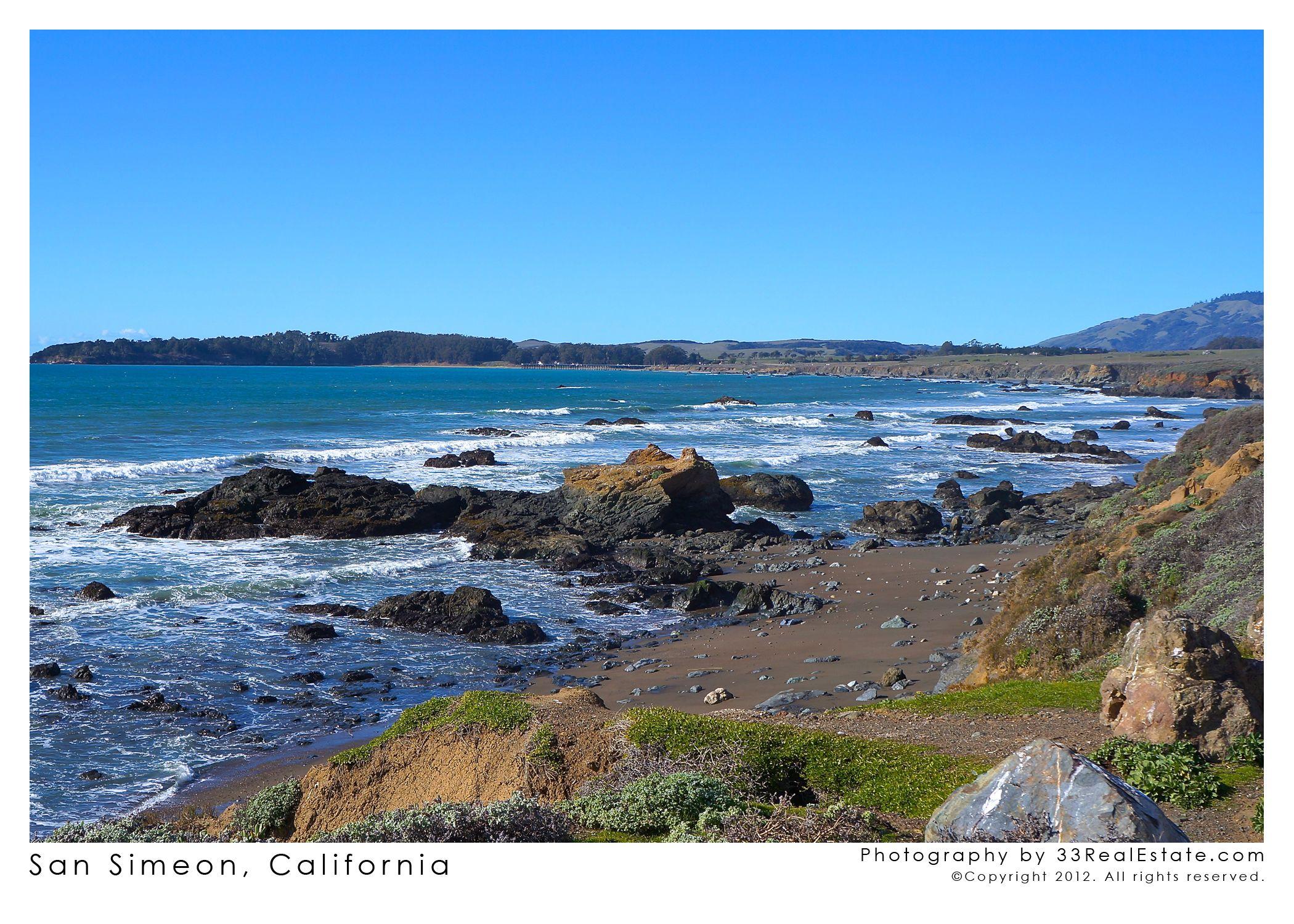 San Simeon California Calfornia Pinterest