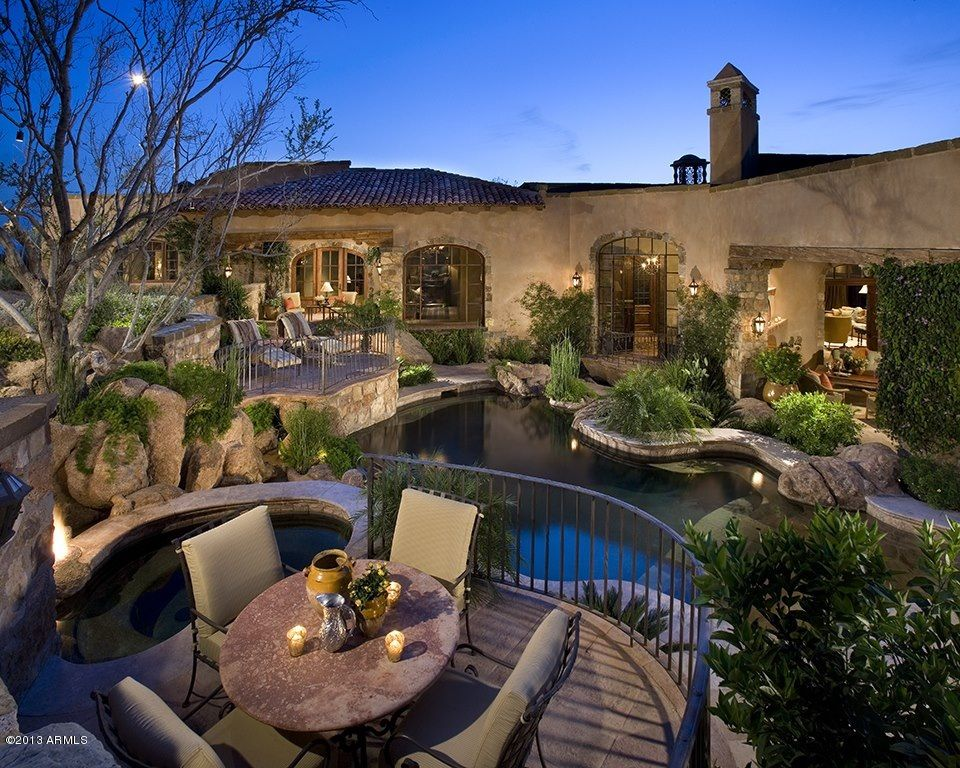 spanish style mansion dream house pinterest