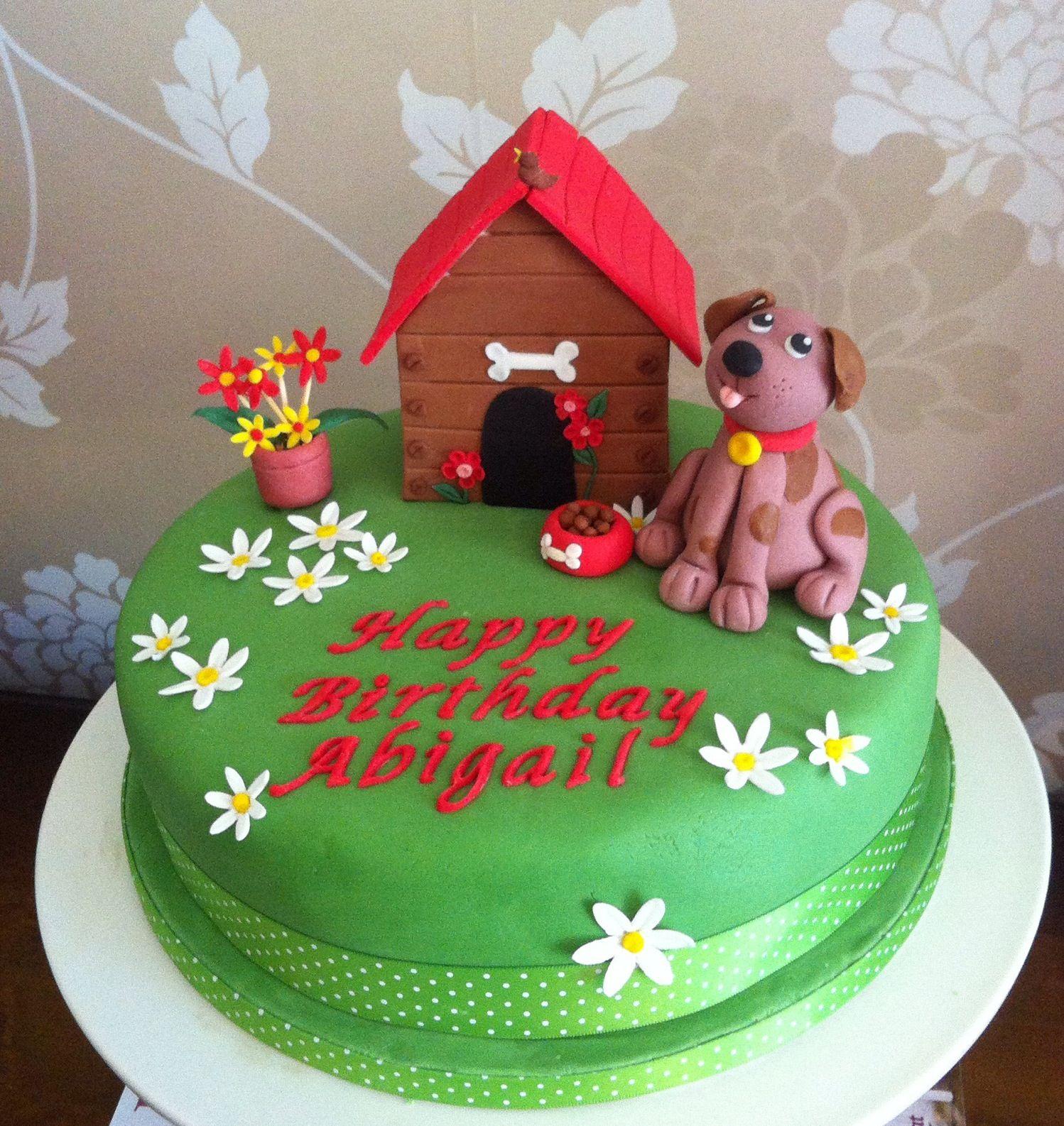 Dog birthday cake Cake Ideas Pinterest