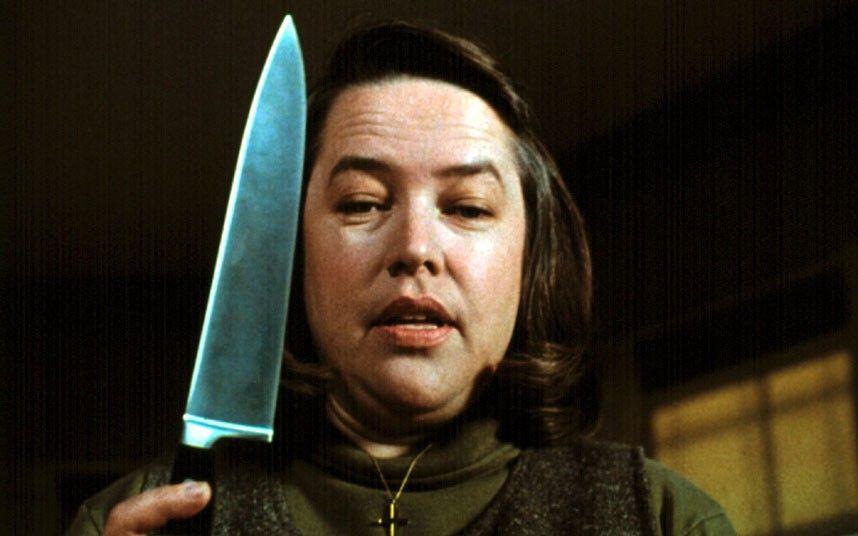 Kathy Bates in Misery ...