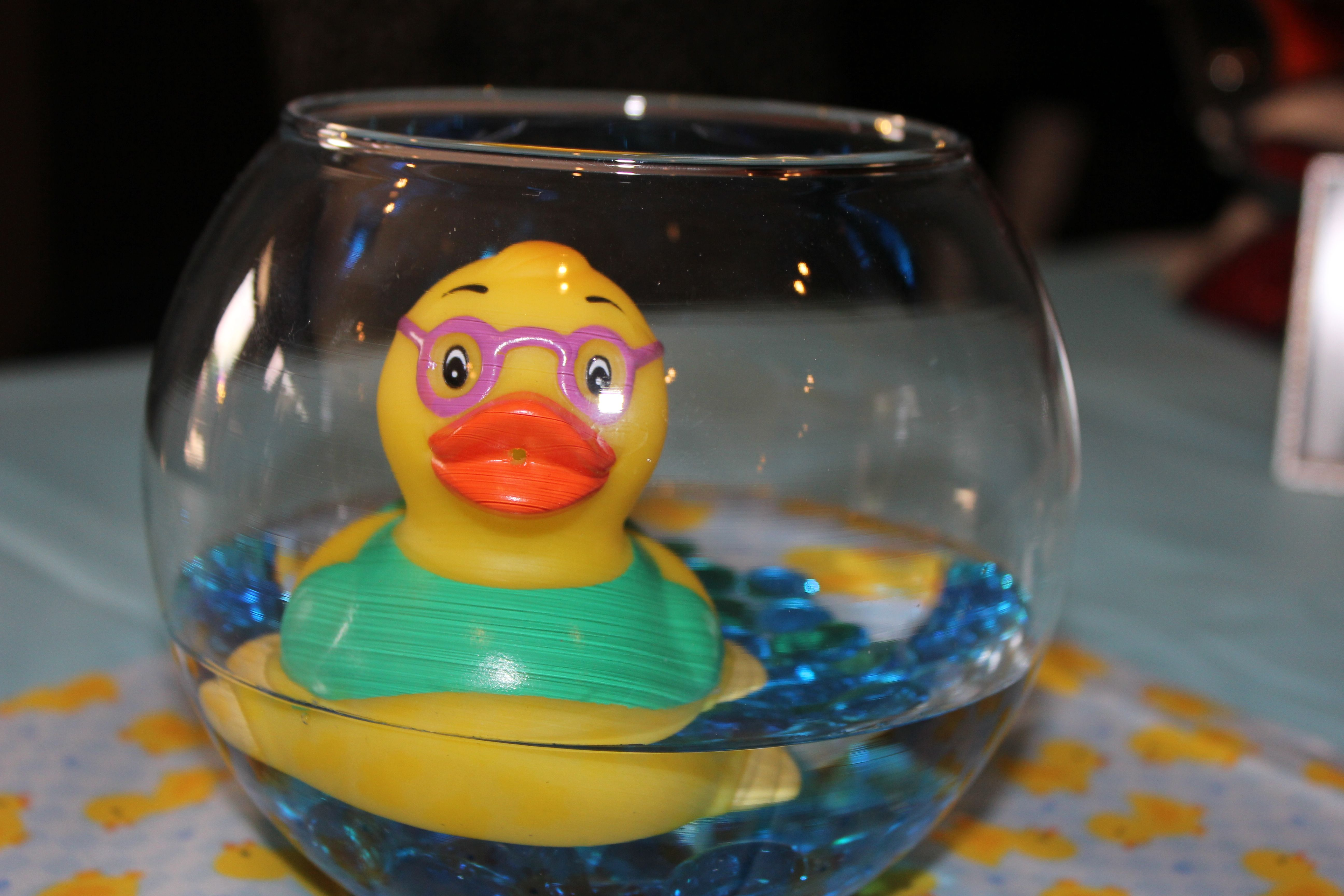 Rubber ducky baby shower decor party central pinterest for Rubber ducky bathroom ideas