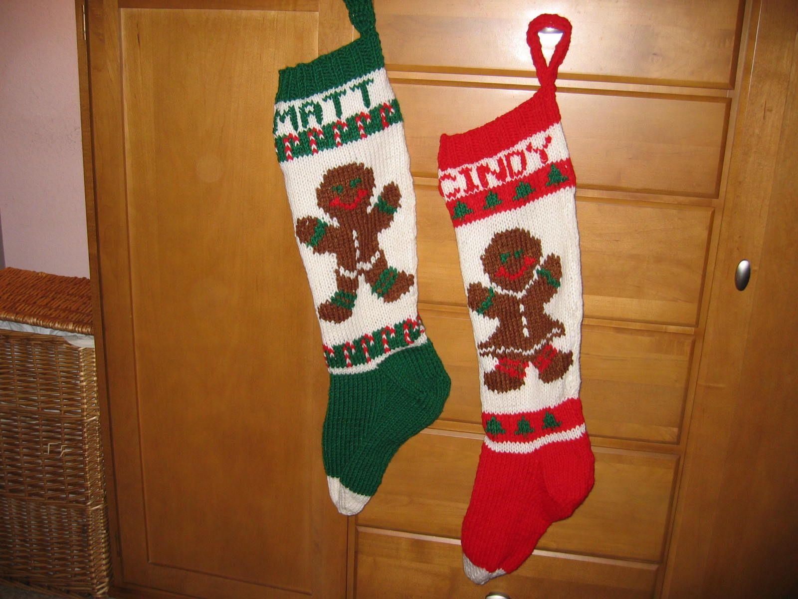 Knitting Christmas Stocking : Knit christmas stockings purl