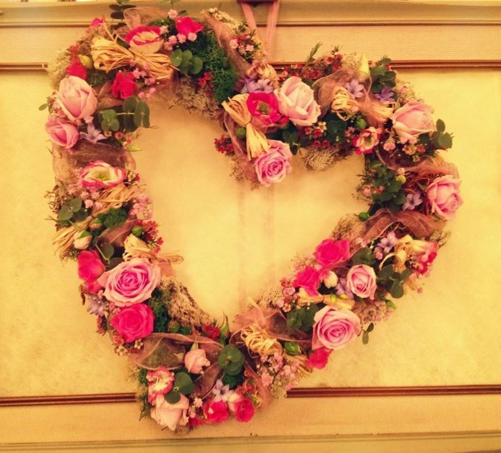 valentine day wreath ideas diy