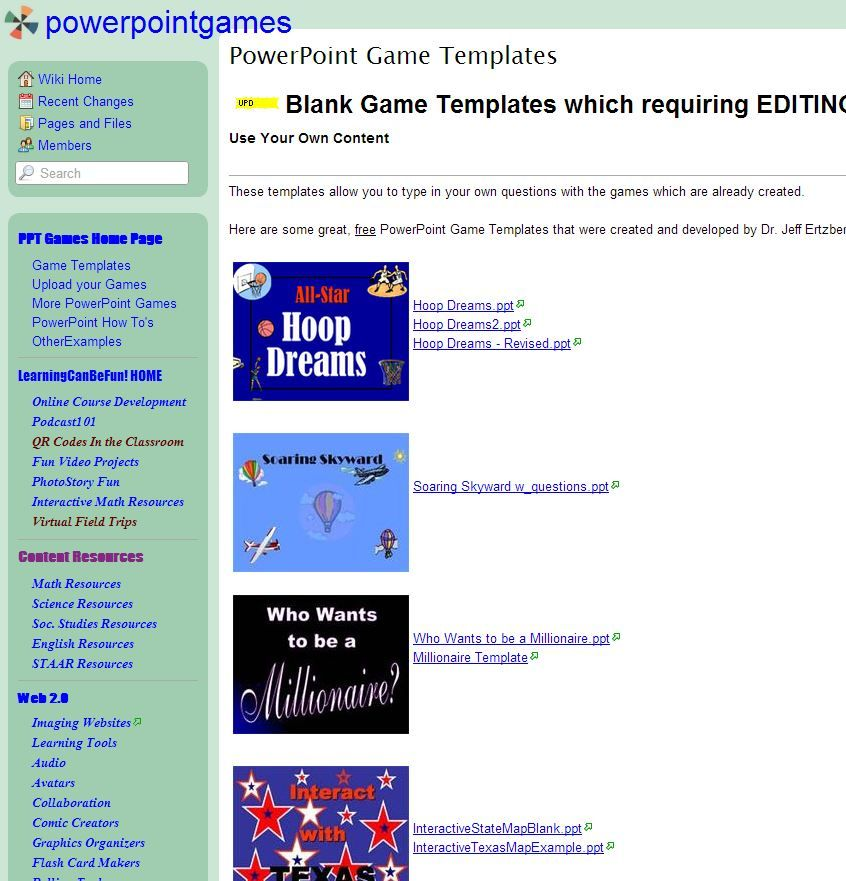 Powerpoint Game Templates Family Feud