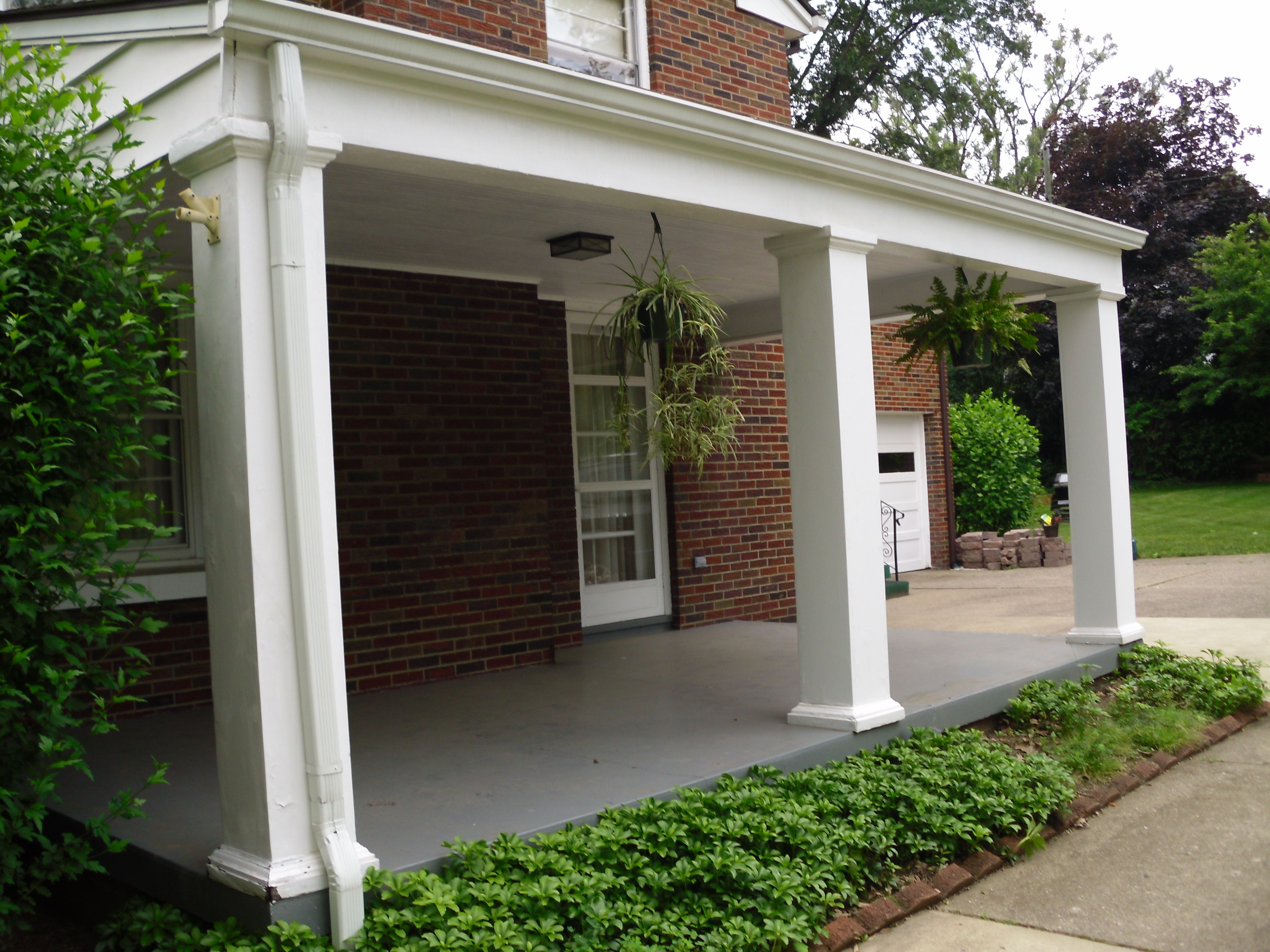 06 2011 Side Porch Porch Pinterest