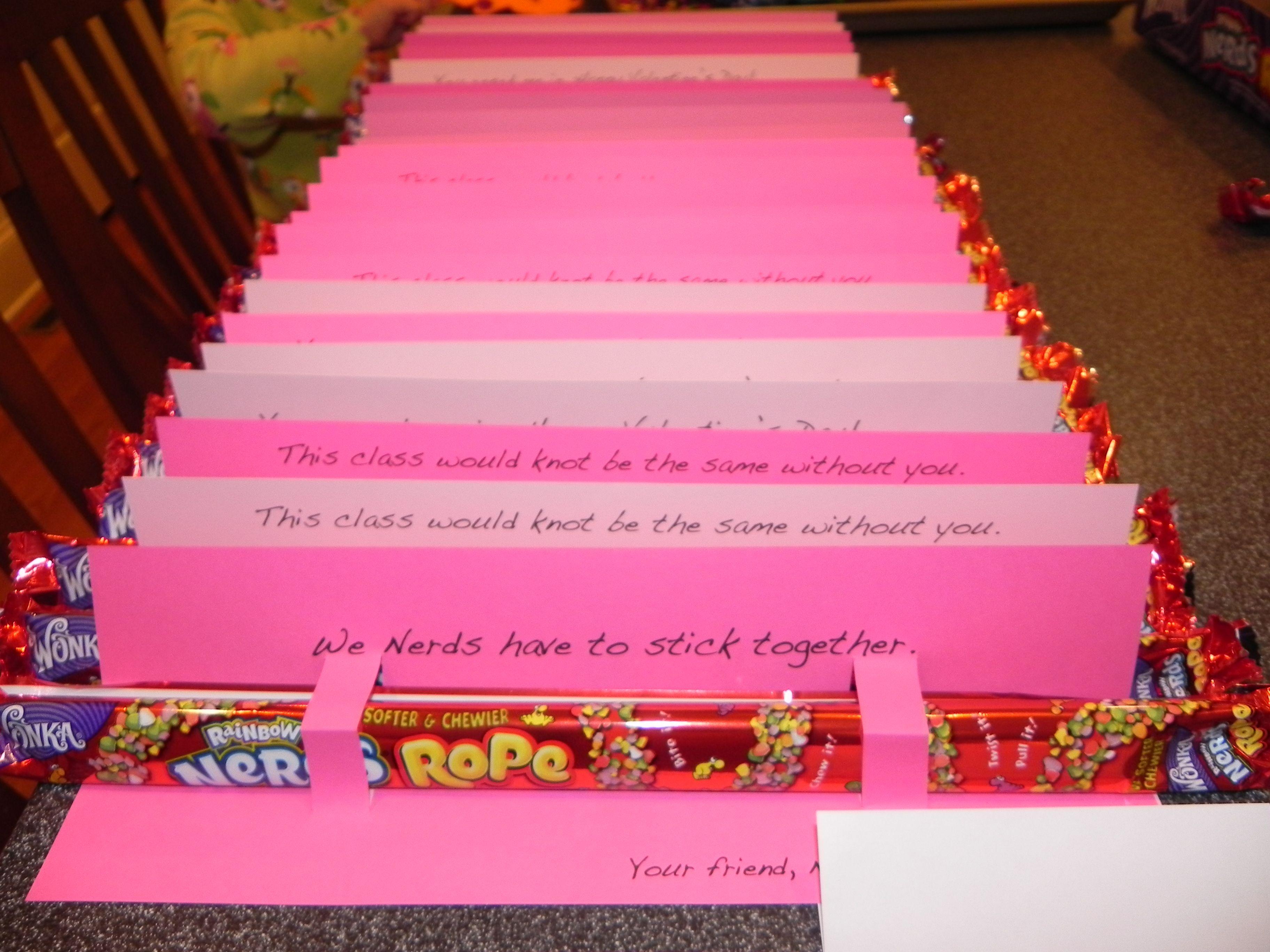 valentine day nerds candy