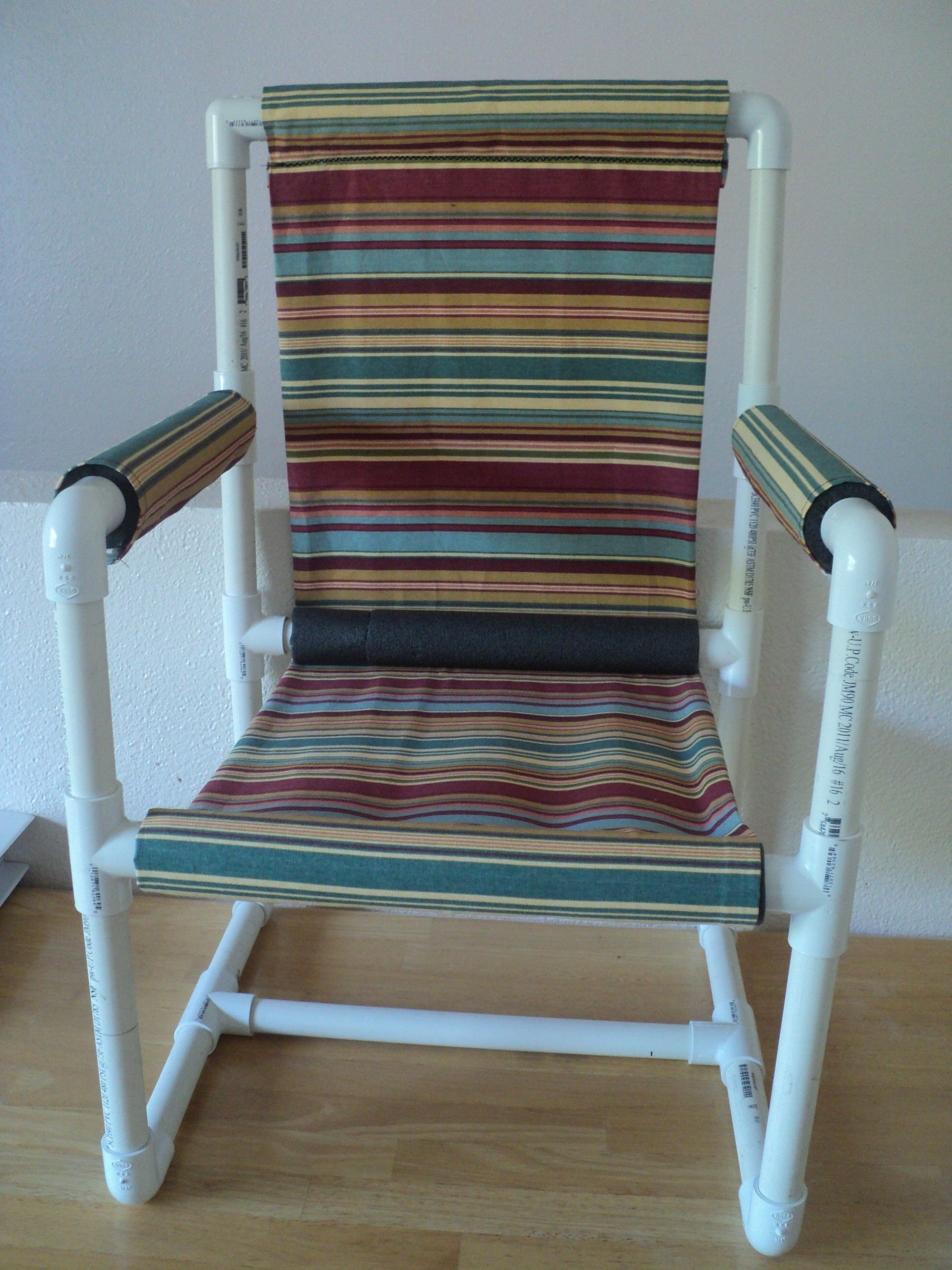 Pvc Pipe Chair Pvc Projects Pinterest