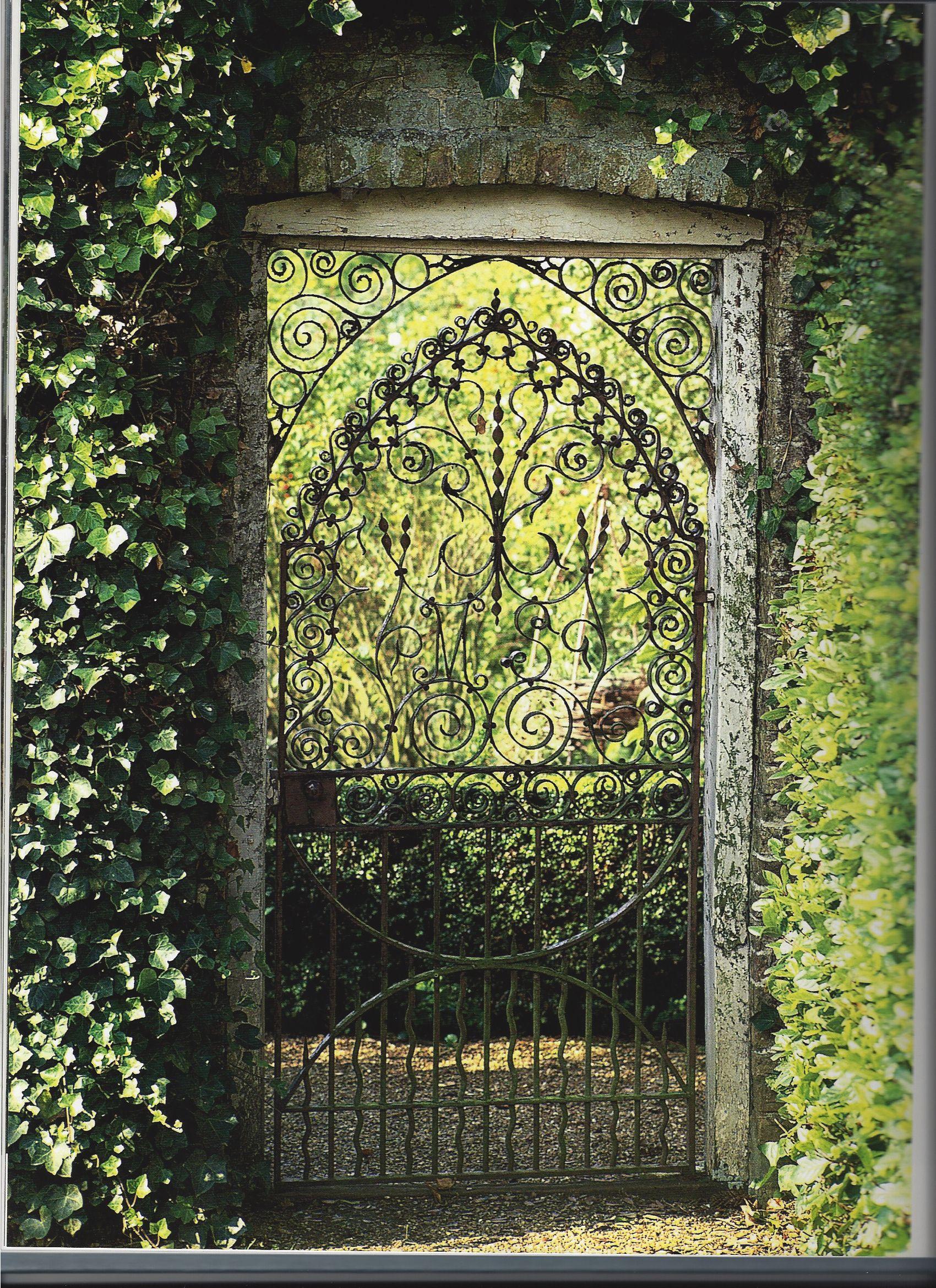 Garden gate garden pinterest for Garden door designs