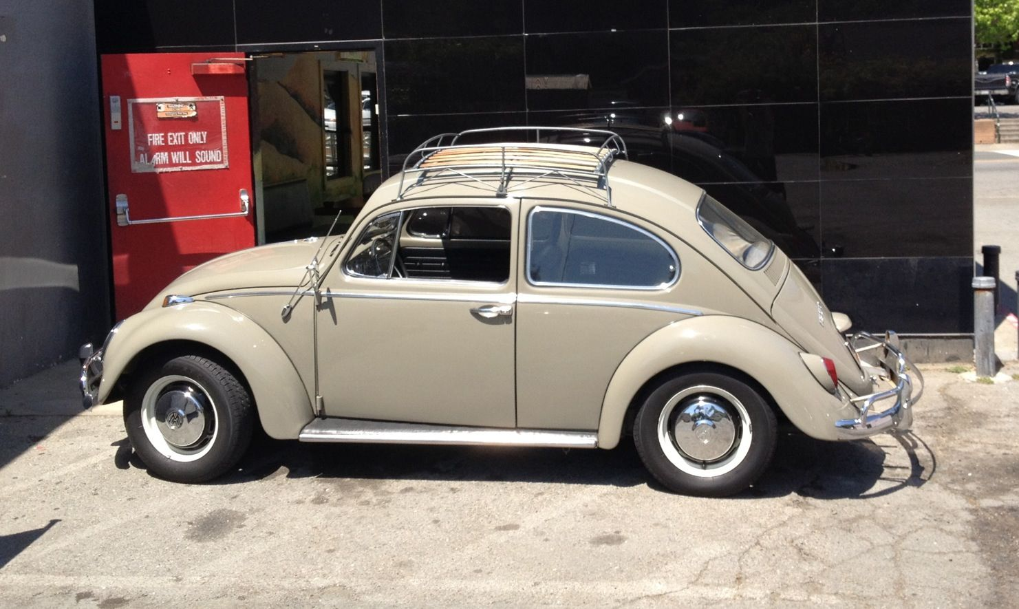vw beetle   roof rack cars song pinterest