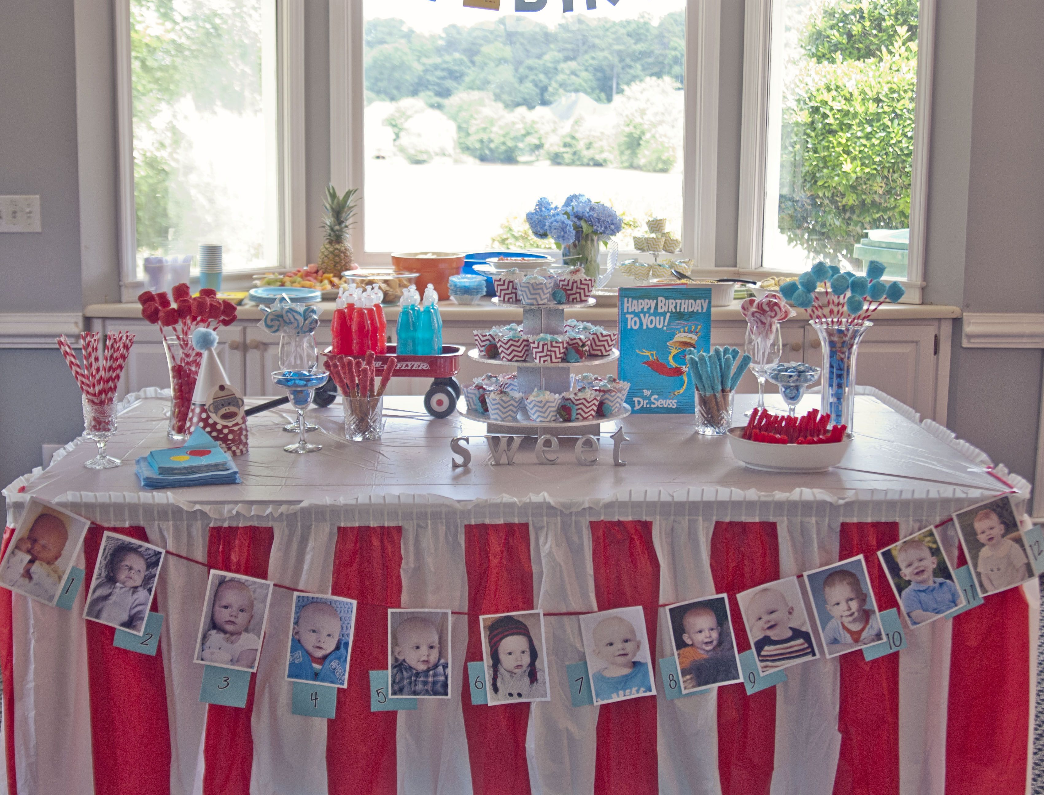 One year old birthday party party time pinterest for 1 year birthday decorations
