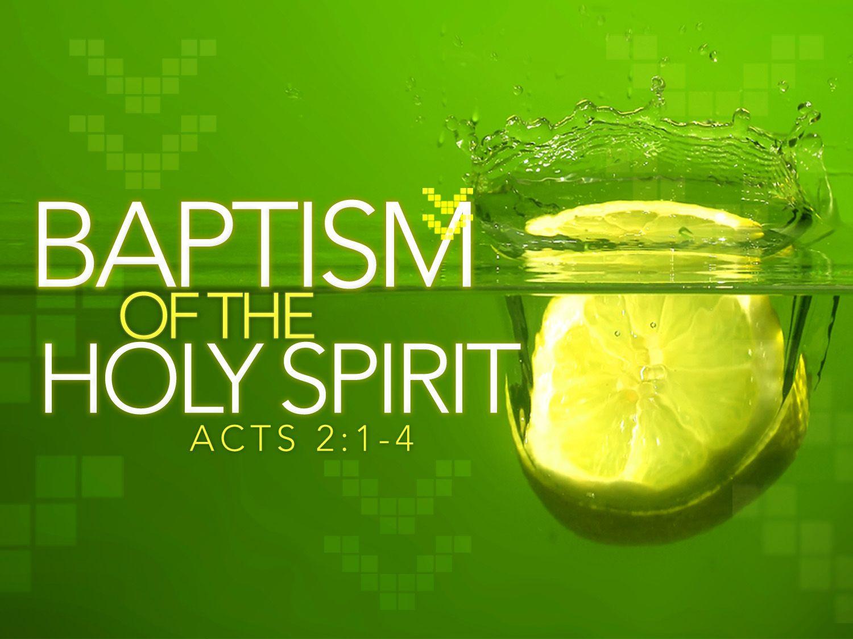 pentecost baptism holy spirit