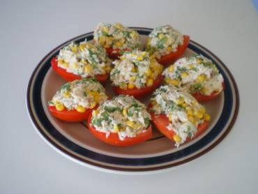Imagem ilustrativa sobre a receita de Tomate Recheado, publicado no site Tudo Gostoso.