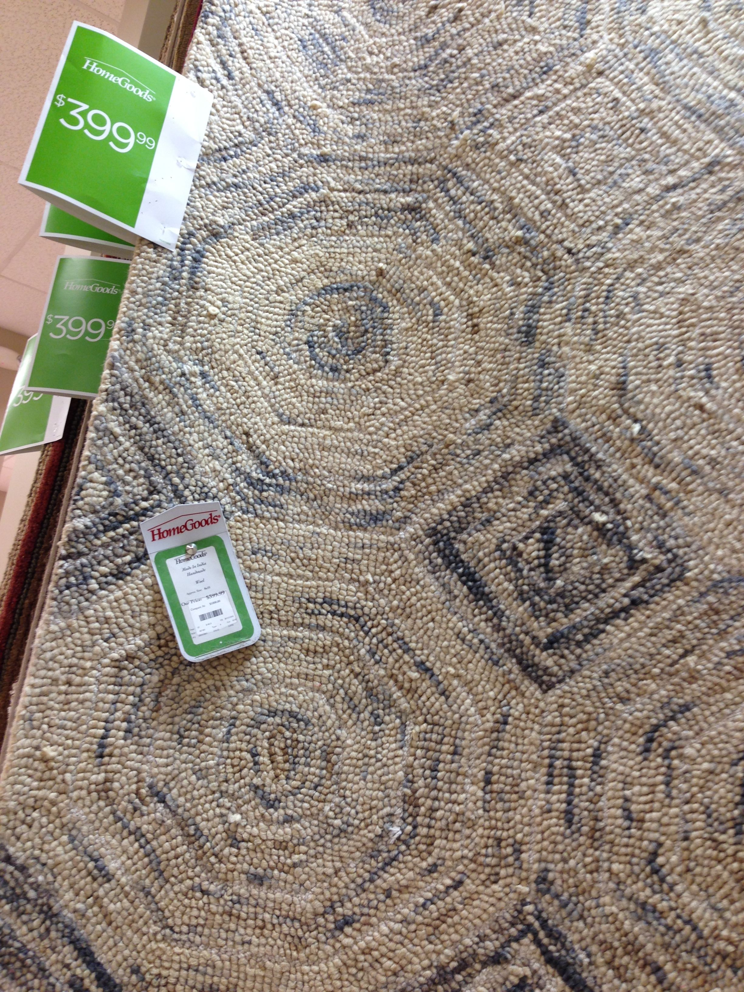 rug from home goods ittybitty pinterest