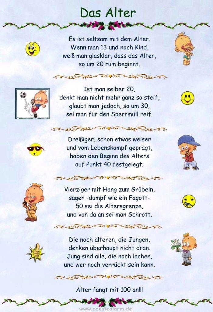 Gedichte Zum Geburtstag Oma Lustig