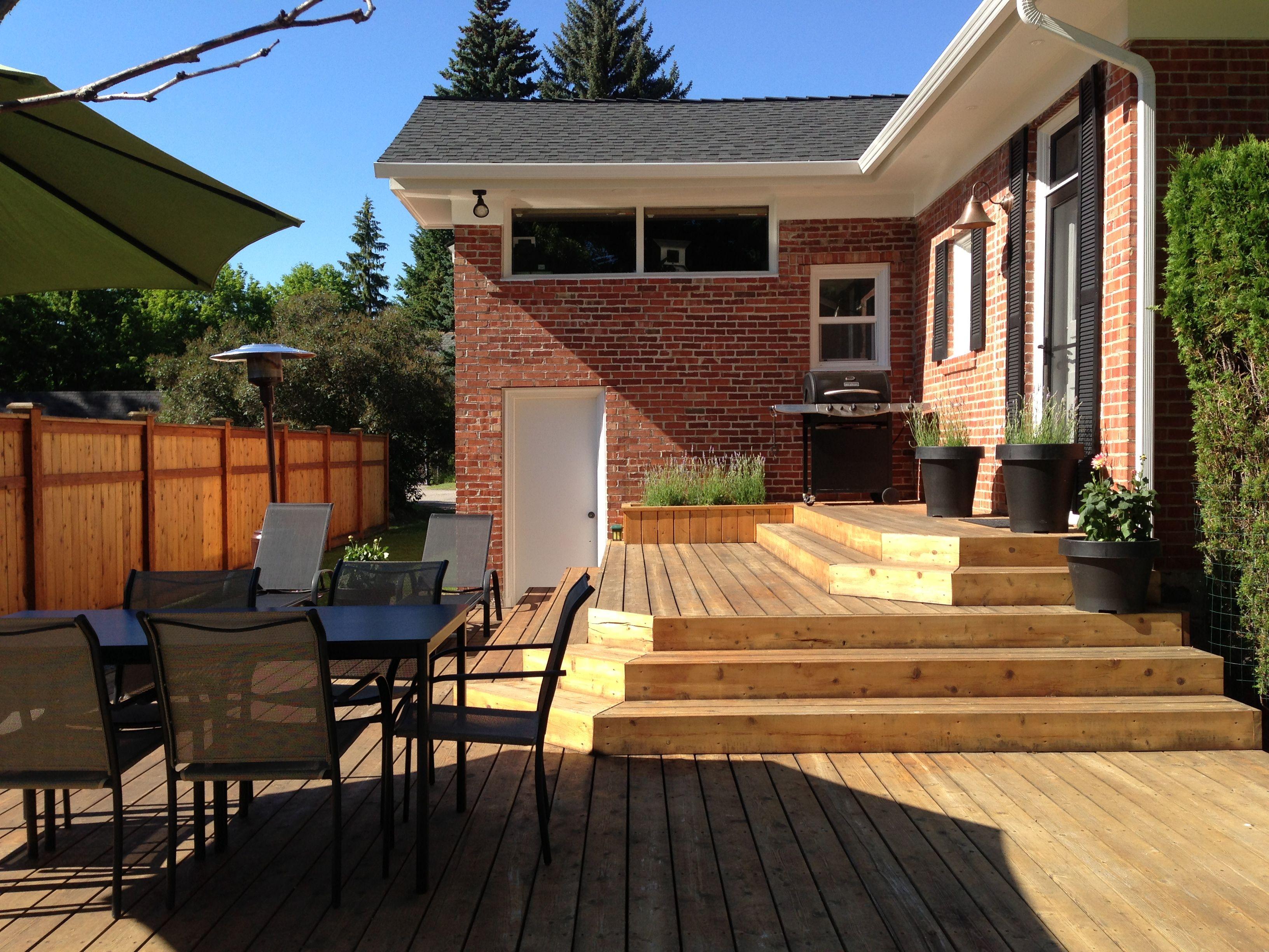 Platform deck porches and patios pinterest for Balcony platform