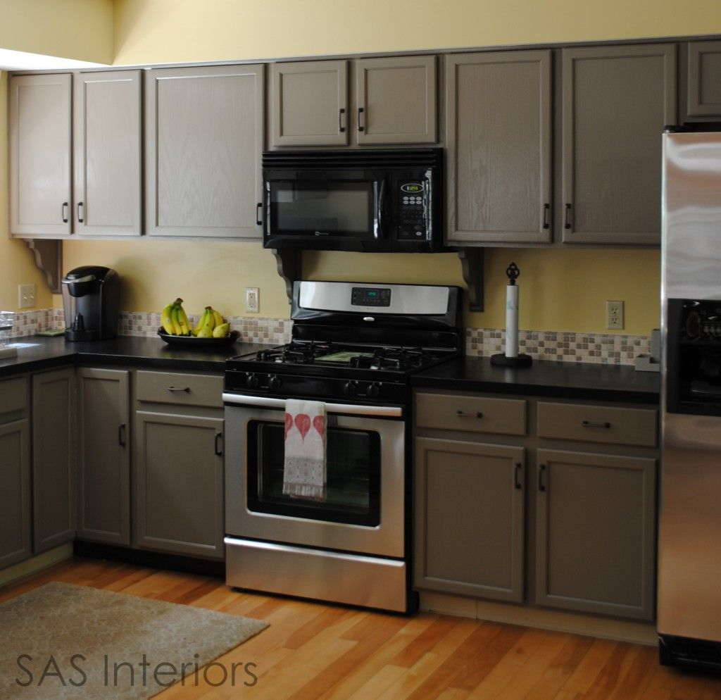 Kitchen Cabinets Makeover Painted Cabinets DIY Pinterest