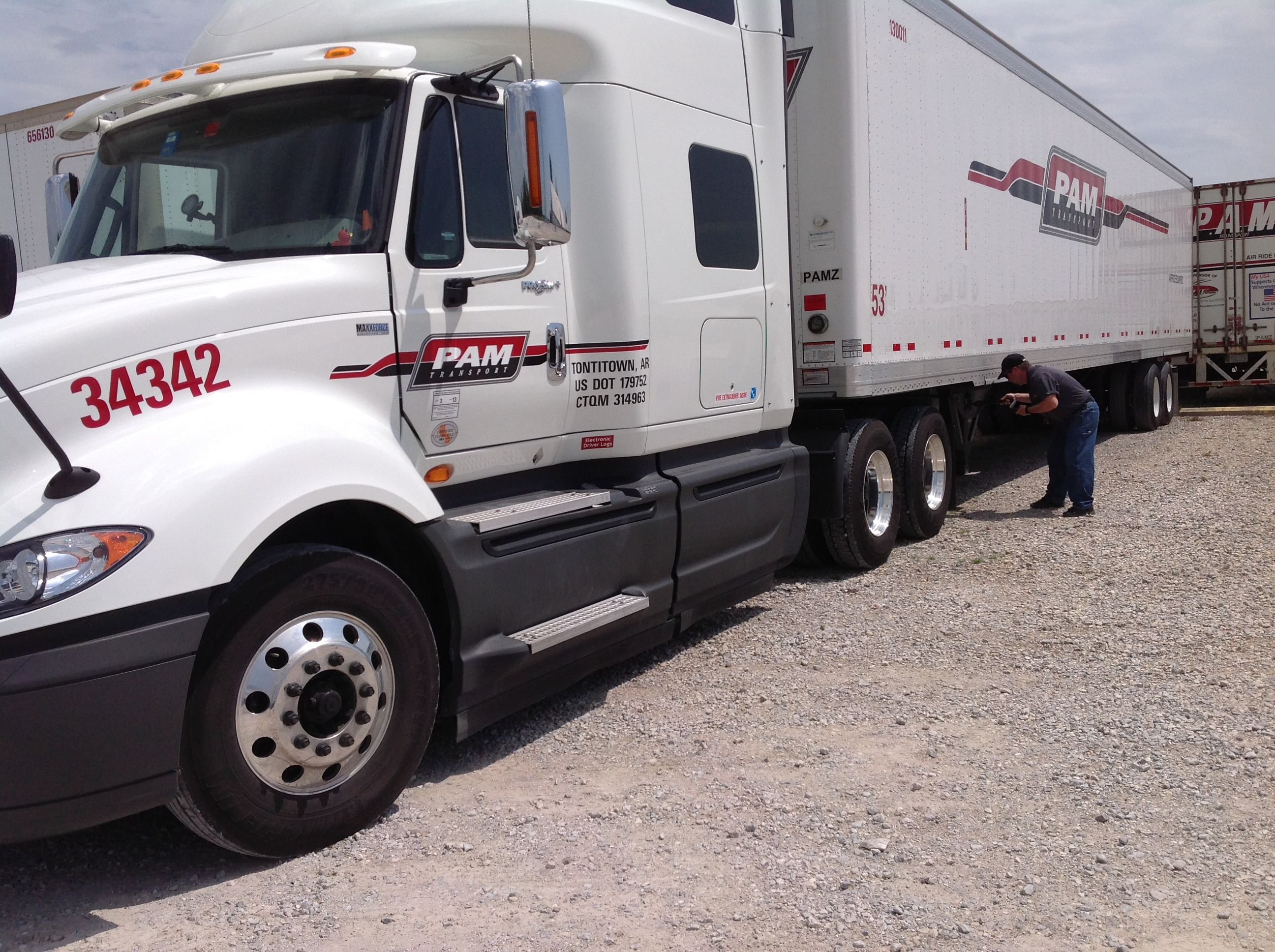 pin by pam transport on our trucks