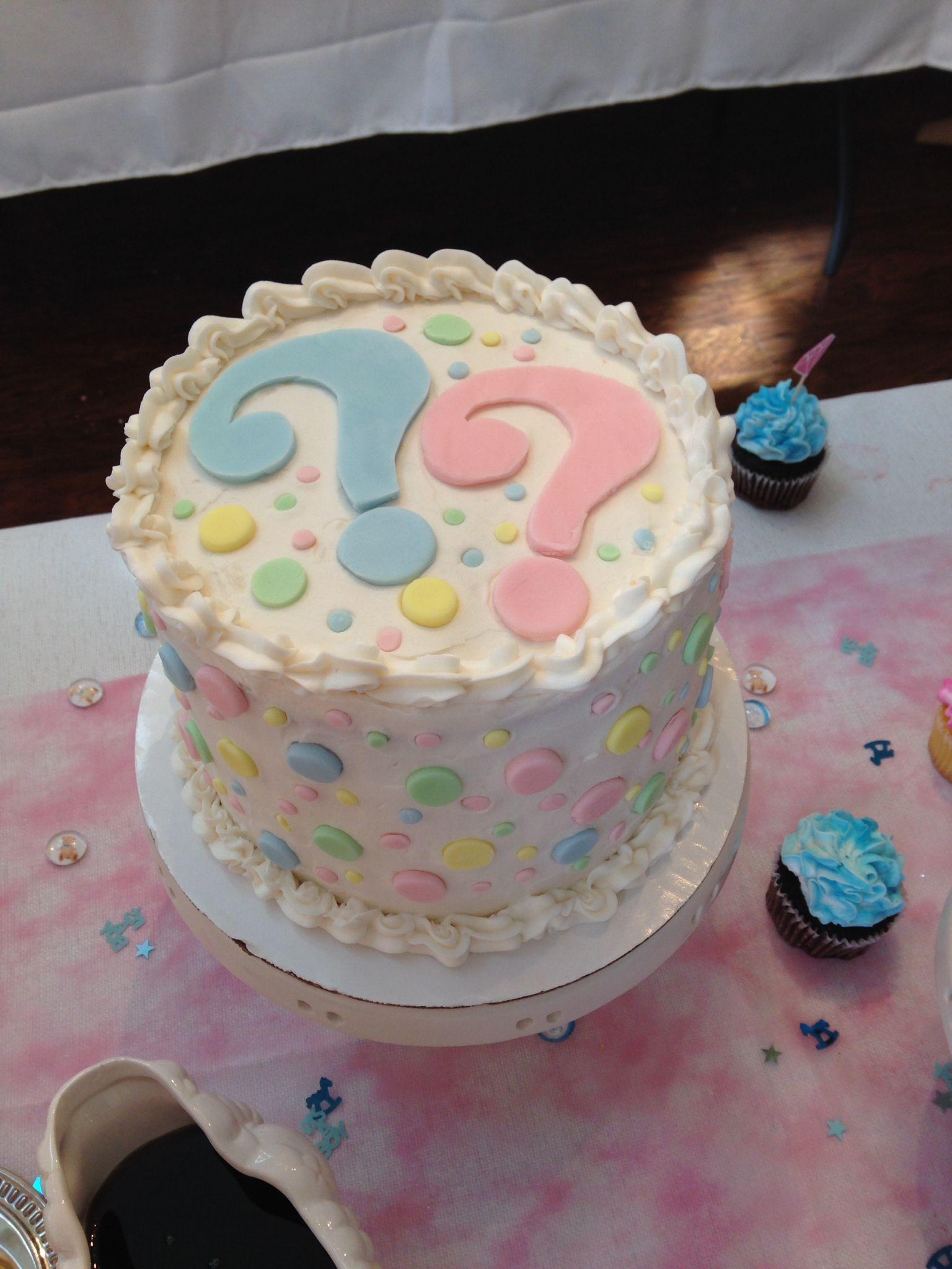 Gender reveal cake | CAKE! | Pinterest