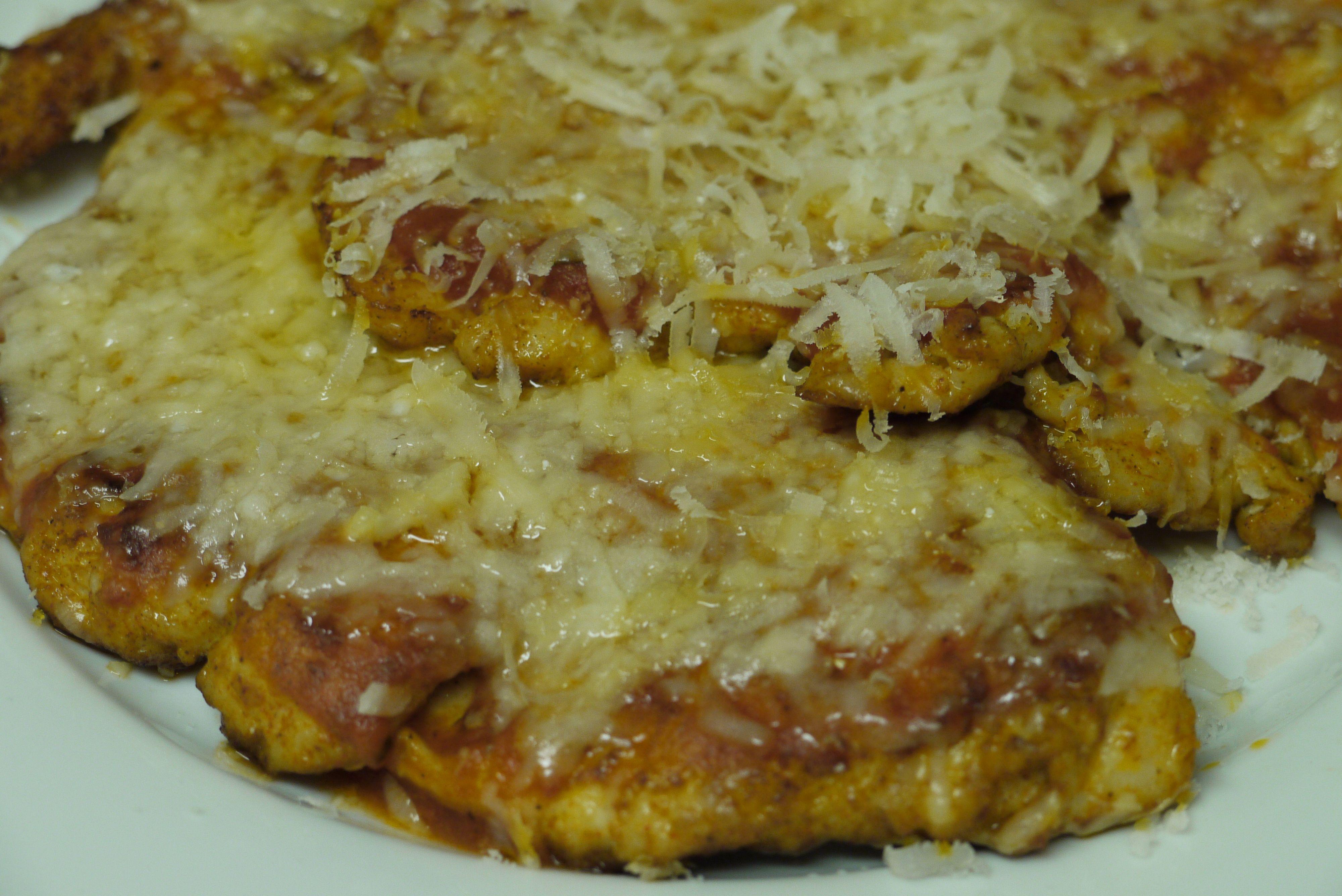 Homemade Chicken Parmigiana | Food to make | Pinterest