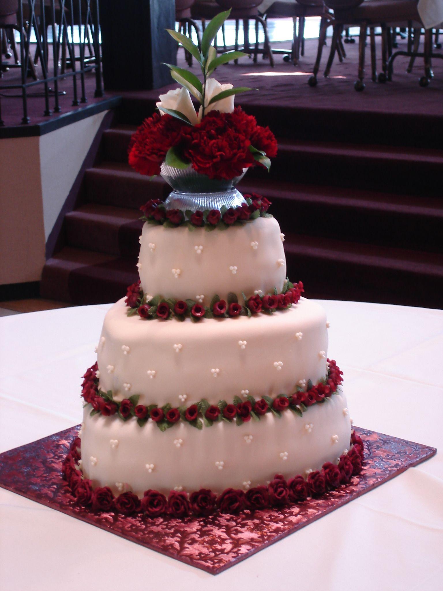 Heart Shaped Wedding Cake Red Velvet Cakes Pinterest