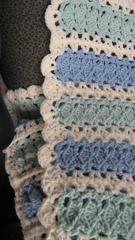 mile a minute afghans crochet
