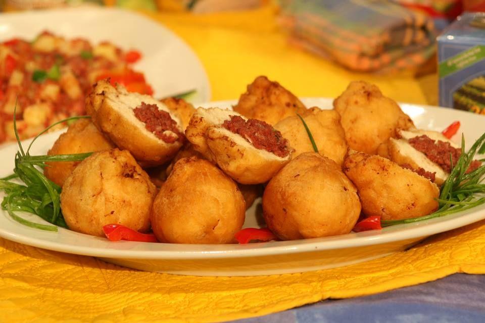 corn beef stuffed fried dumplings | Authentic Jamaican Dishes | Pinte ...