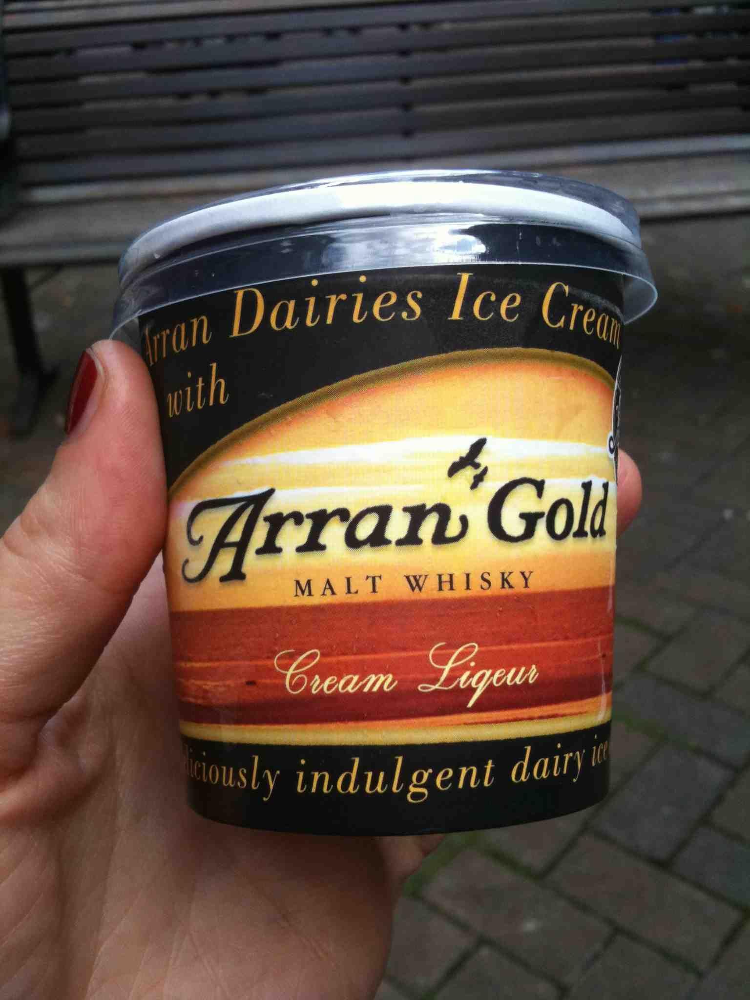 Arran ice cream | whiskey | Pinterest