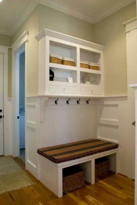 Mud room in small area house ideas pinterest - Mudroom laundry room designs ...