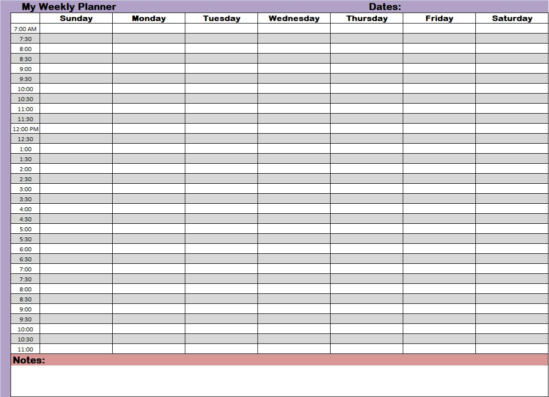 24 hour daily schedule template | trattorialeondoro