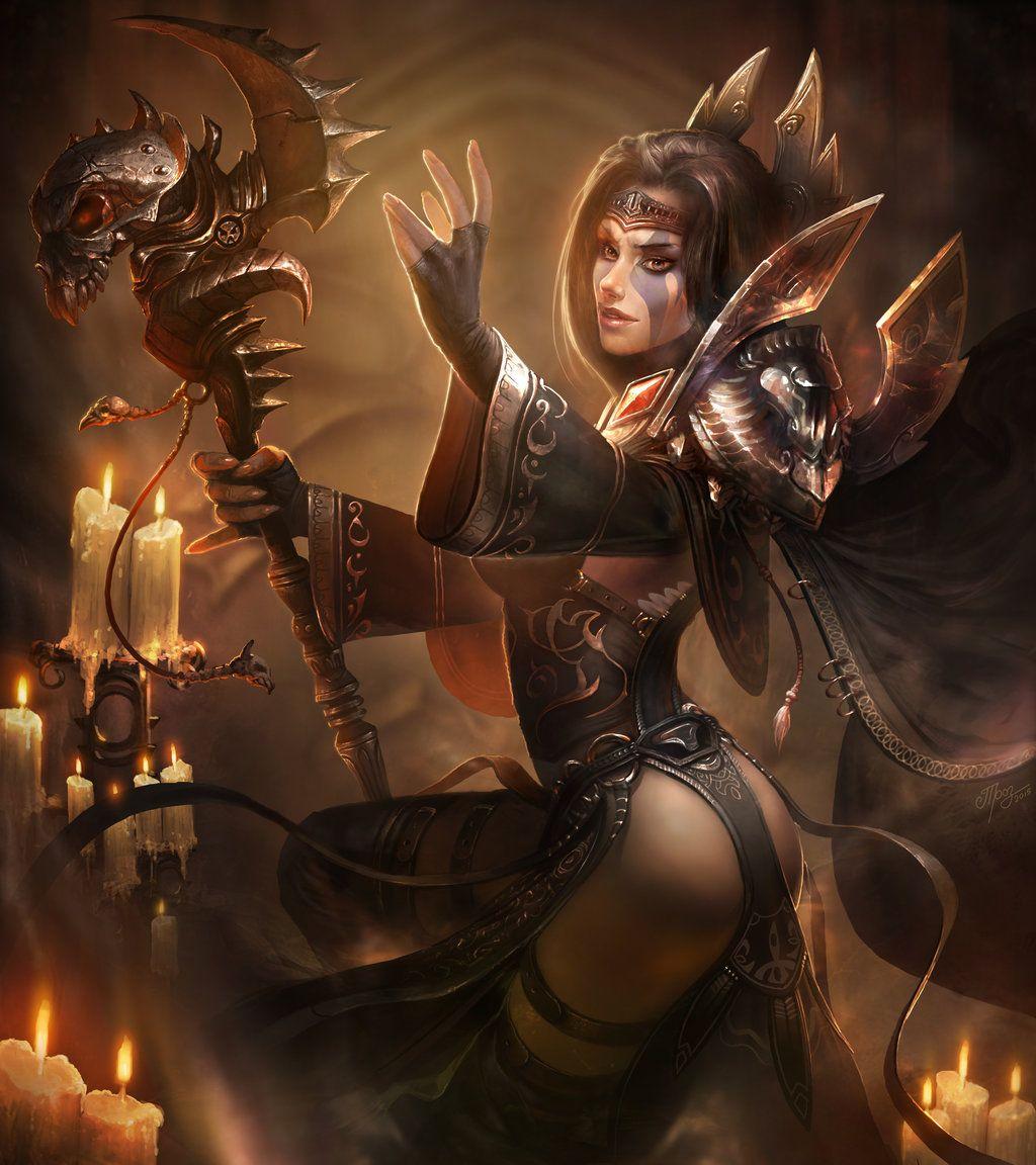 Diablo 3 succubus nude sexy video