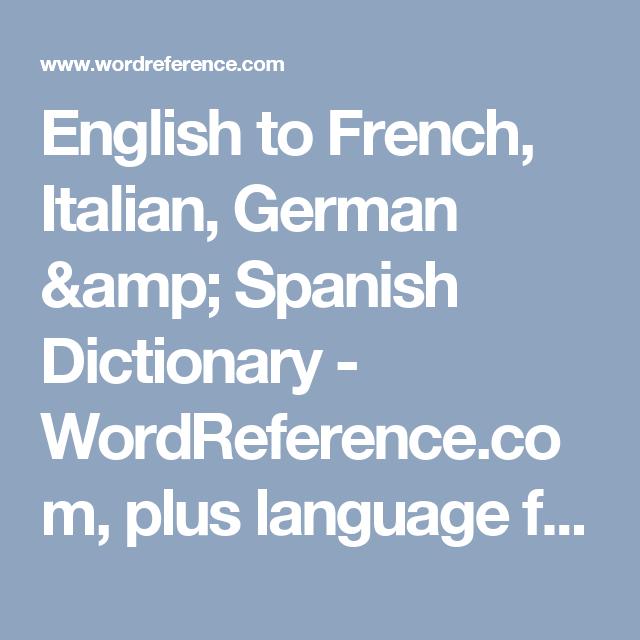 Cambridge EnglishSpanish Dictionary Translate from