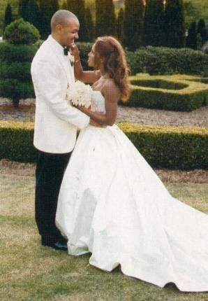 toni braxtonampkeri lewiss wedding celebrity weddings