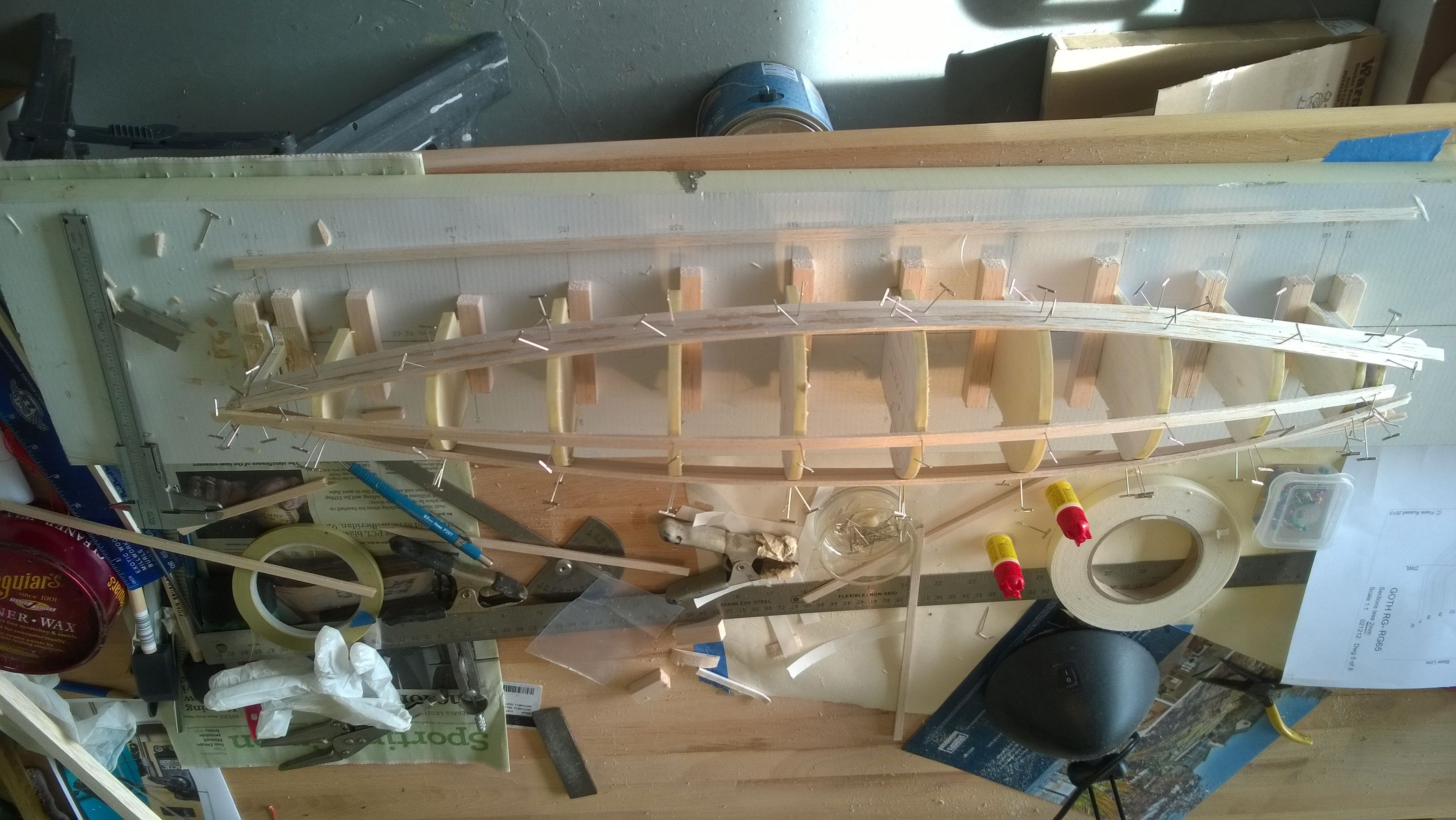 Topic Rc sailboat build log | Velera