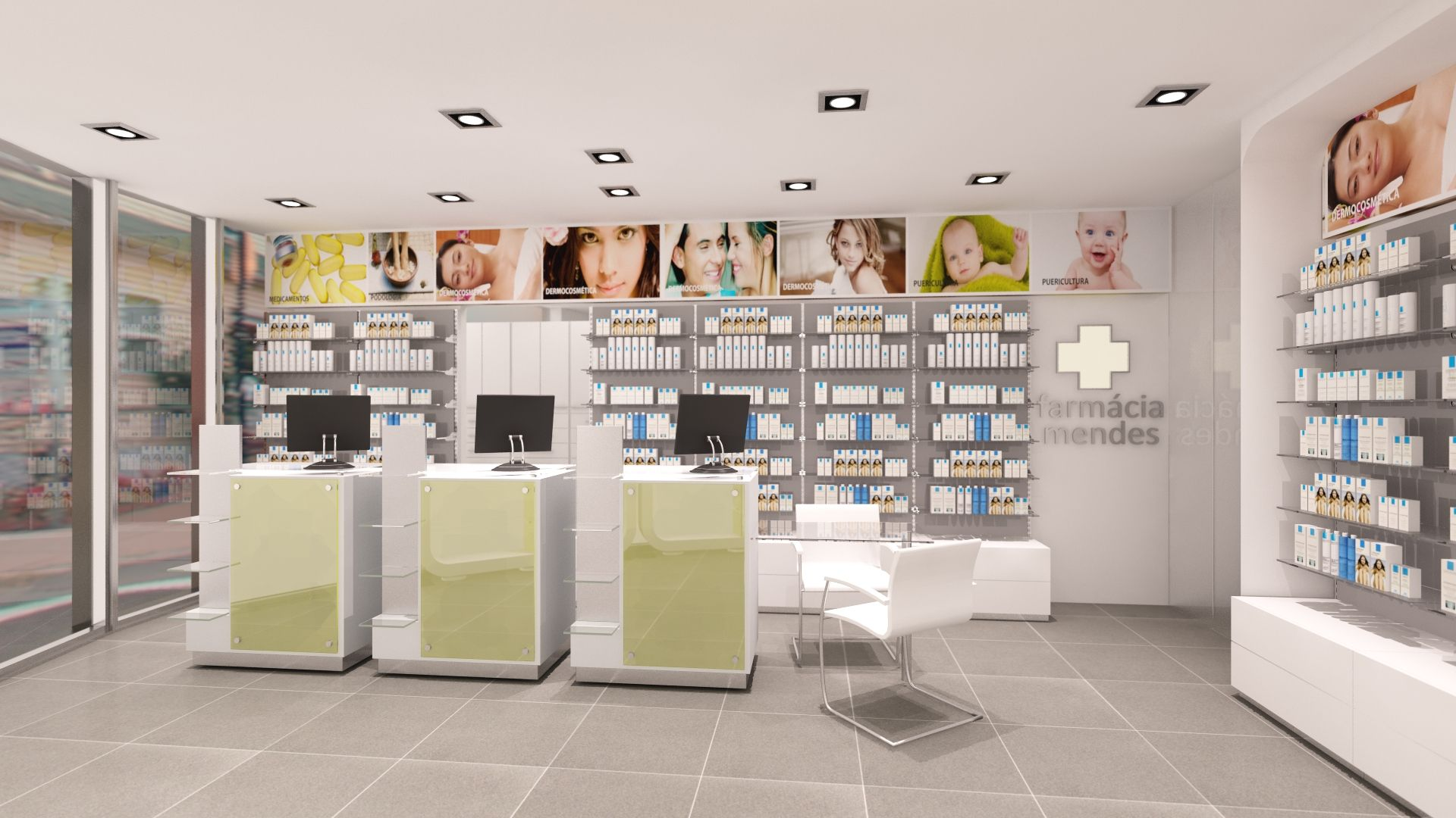 Farm Cia Mendes Pharmacy Design Ideas Pinterest