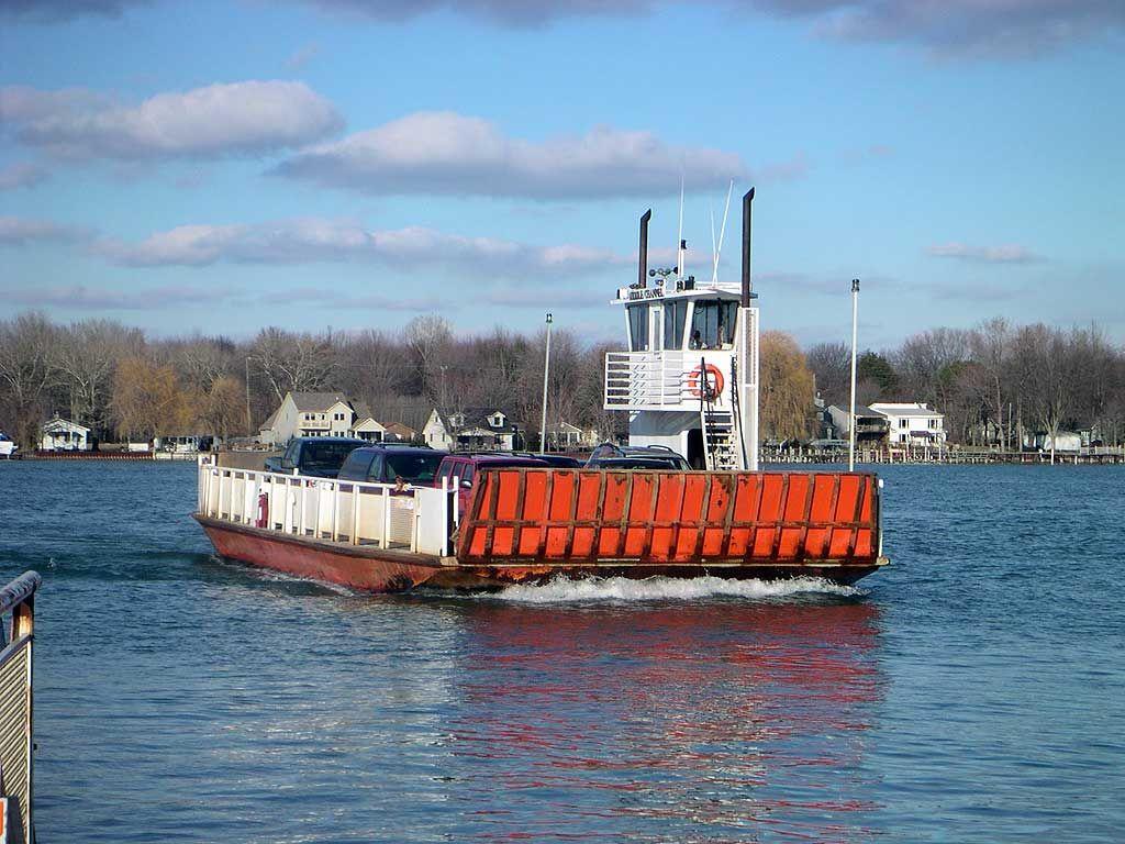 Harsens Island Ferry Michigan