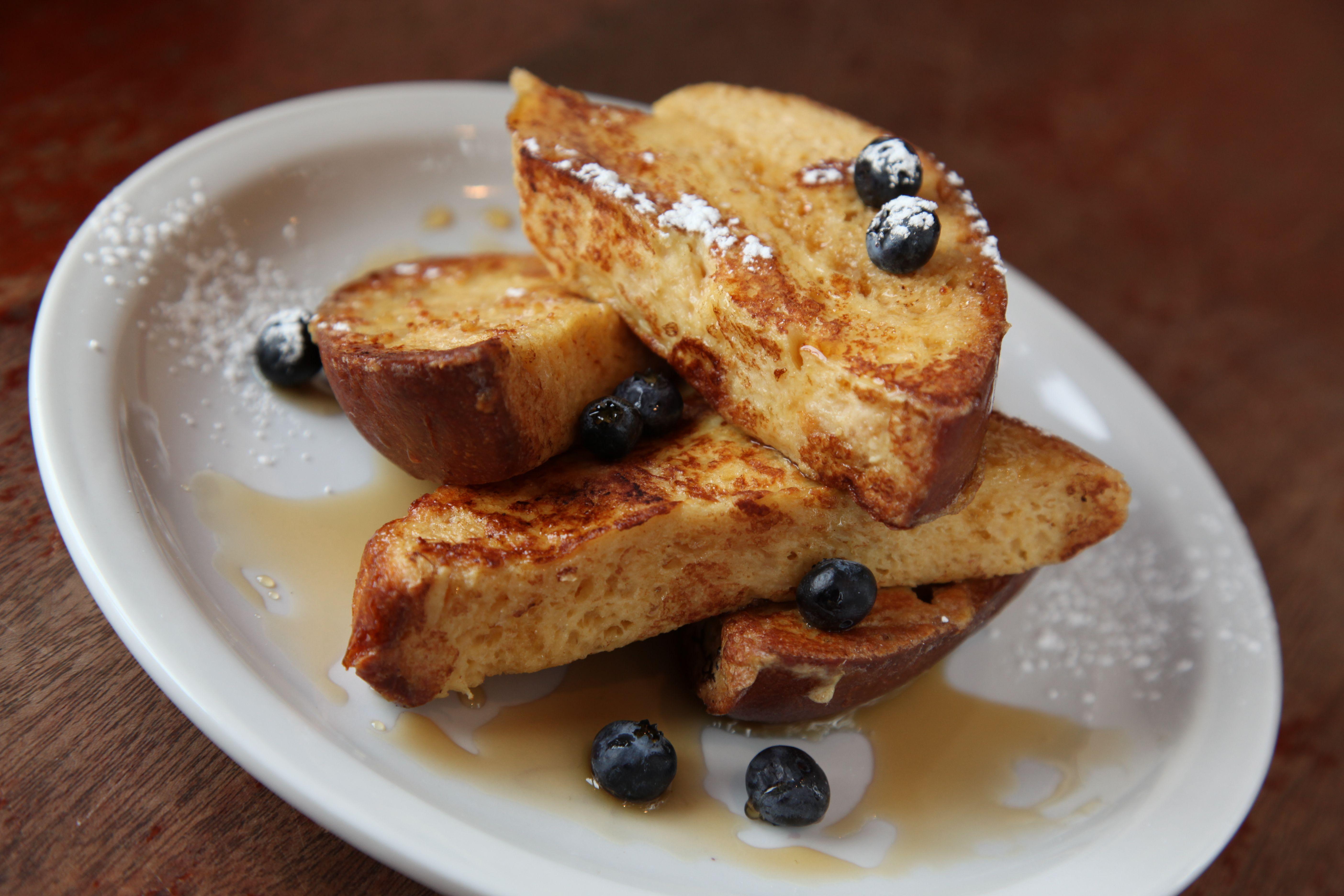 Deep-Dish Brioche French Toast Recipe — Dishmaps