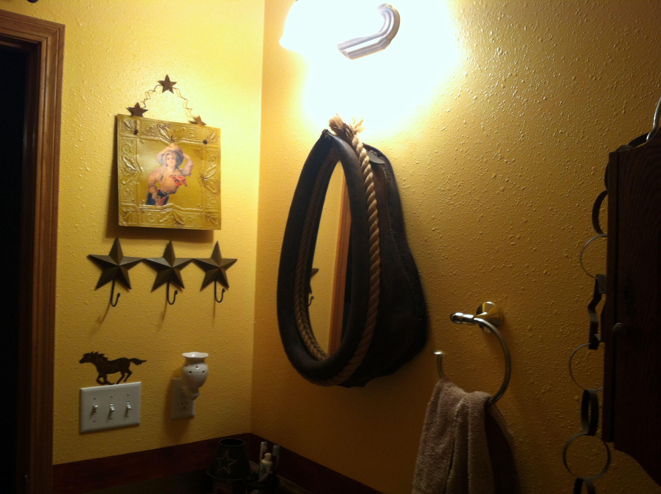 More bathroom western decor home pinterest for Cowgirl bathroom ideas