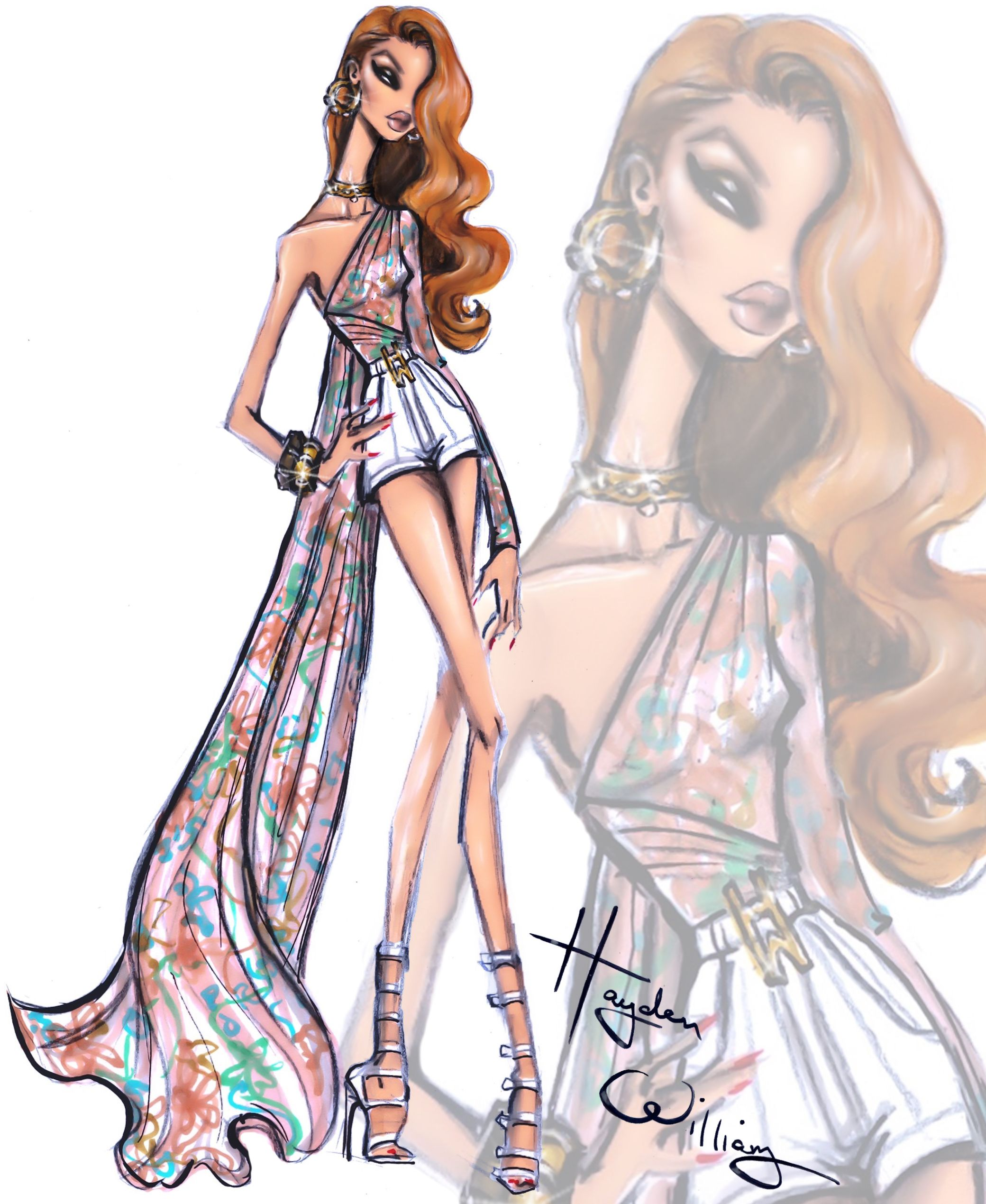 How to fashion illustrate 20