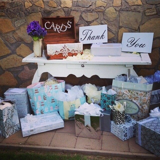 Wedding Gift Table Ideas Pinterest : Pin it Like Image
