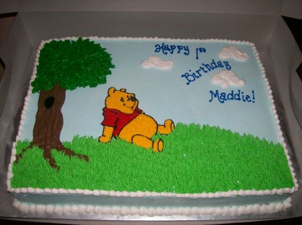 Cake Decoration Galway : Winnie the Pooh Cake Cakes/Cupcakes:Winnie the Pooh ...