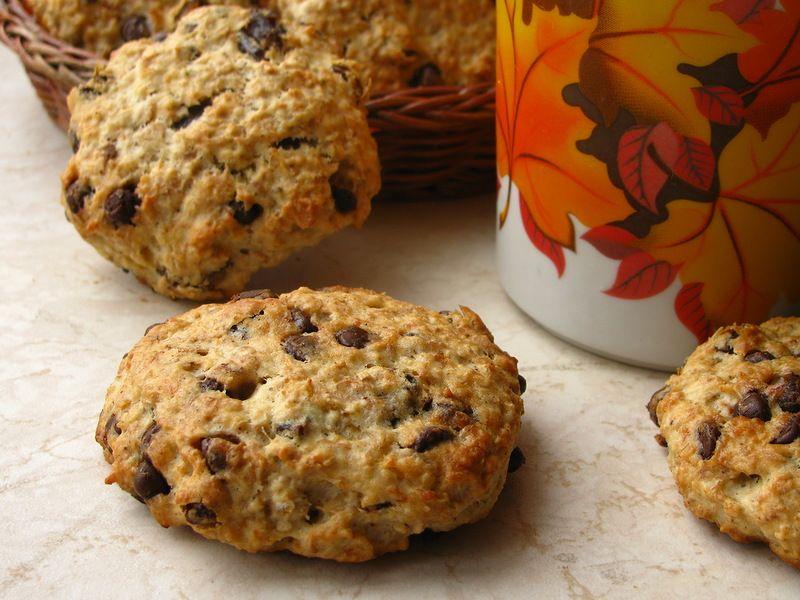 Овсяное печенье с подсолнечным маслом