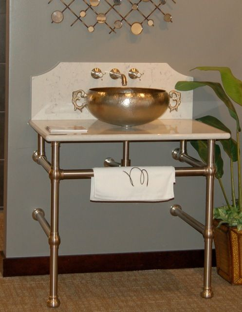 Pipe Base for Laundry sink home sweet home Pinterest