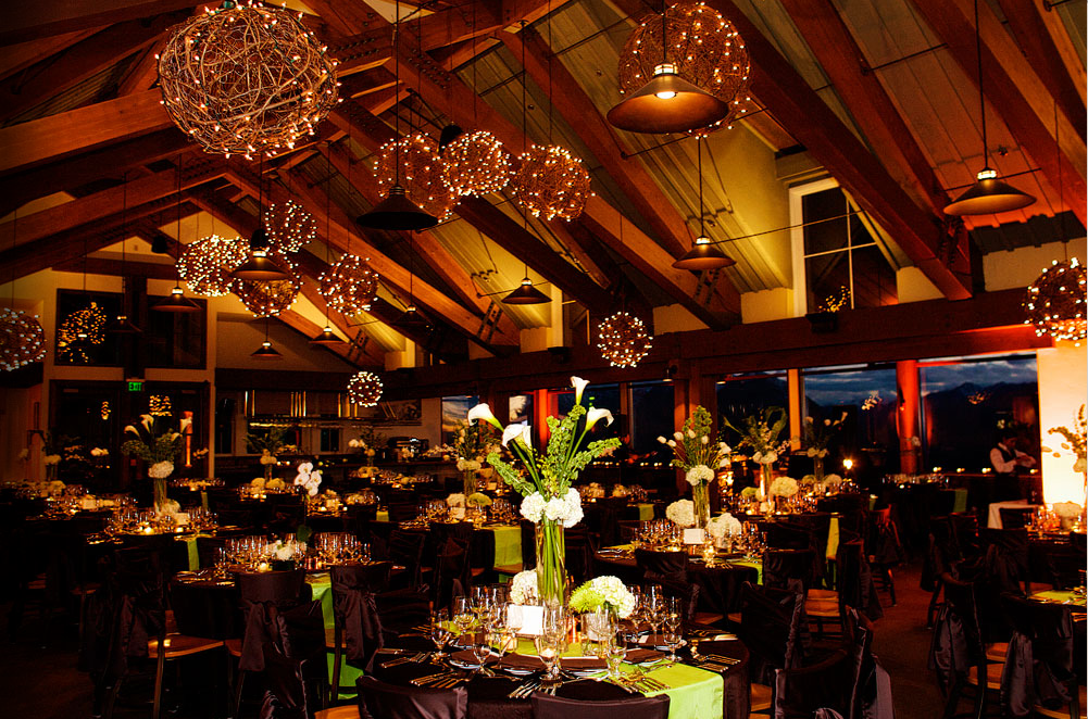 Grapevine balls with lighting wedding inspiration for Ceiling decoration ideas