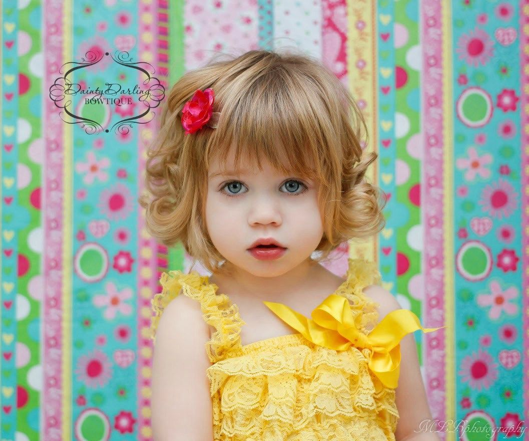Kids hairstyles for girls for weddings