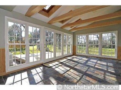 Porch idea view 1 4 season sunroom addition ideas for Four season porch plans