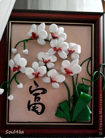 Объемные картины цветы своими руками 37