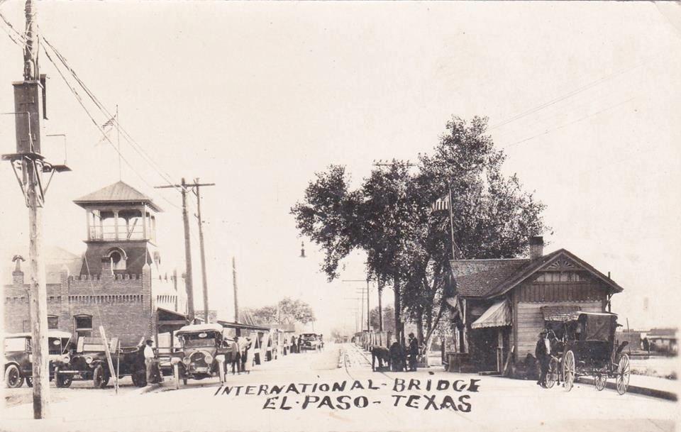International bridge el paso texas american history for El paso america
