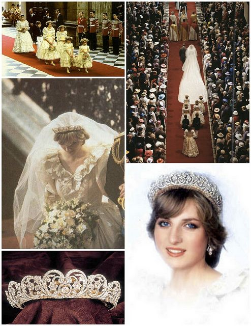 What Princess Diana Wore to Weddings in the 80s and 90s images