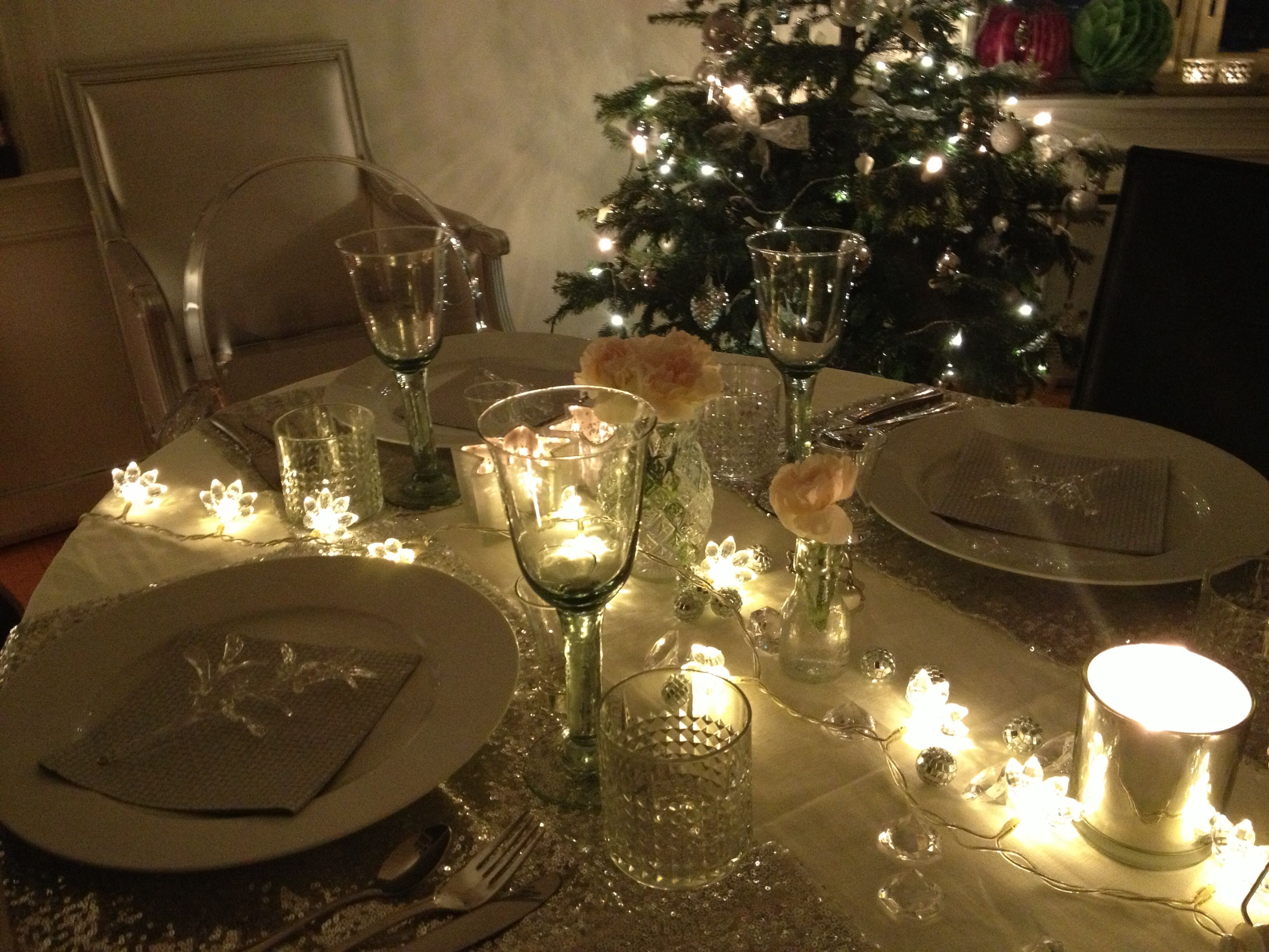 New years eve table decoration by idnw winter decor - New year table decorations ...